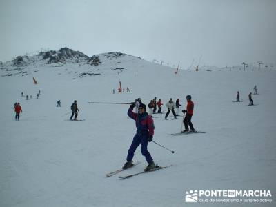 squí Baqueira - Aprende a esquiar; bosque irati; puerto de la cruz verde